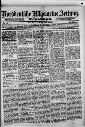 Norddeutsche allgemeine Zeitung vom 25.07.1886