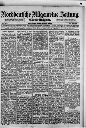 Norddeutsche allgemeine Zeitung vom 26.07.1886