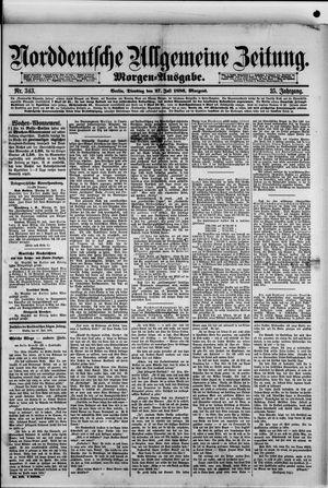 Norddeutsche allgemeine Zeitung vom 27.07.1886