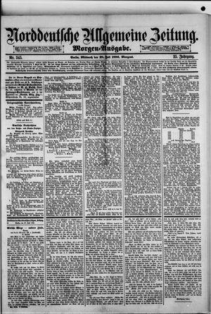 Norddeutsche allgemeine Zeitung vom 28.07.1886