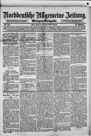 Norddeutsche allgemeine Zeitung on Jul 30, 1886
