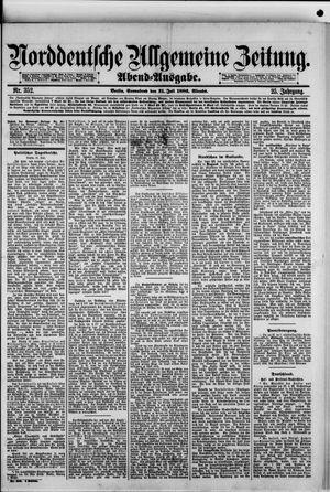 Norddeutsche allgemeine Zeitung vom 31.07.1886