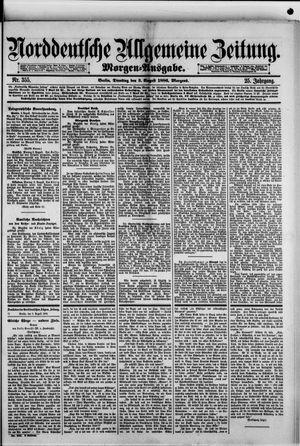 Norddeutsche allgemeine Zeitung vom 03.08.1886