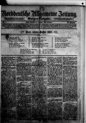 Norddeutsche allgemeine Zeitung vom 01.01.1887
