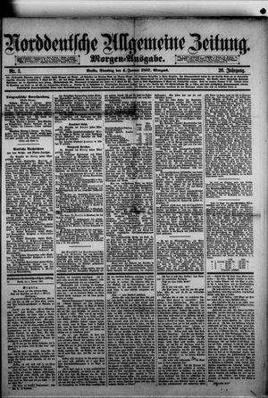 Norddeutsche allgemeine Zeitung vom 04.01.1887