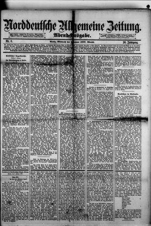 Norddeutsche allgemeine Zeitung on Jan 5, 1887