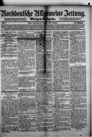 Norddeutsche allgemeine Zeitung vom 06.01.1887