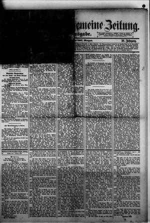 Norddeutsche allgemeine Zeitung on Jan 7, 1887