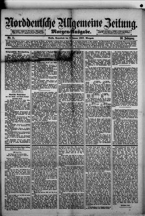 Norddeutsche allgemeine Zeitung on Jan 8, 1887