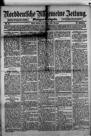 Norddeutsche allgemeine Zeitung vom 09.01.1887