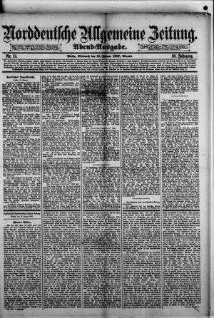 Norddeutsche allgemeine Zeitung on Jan 12, 1887