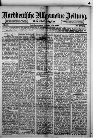 Norddeutsche allgemeine Zeitung vom 13.01.1887