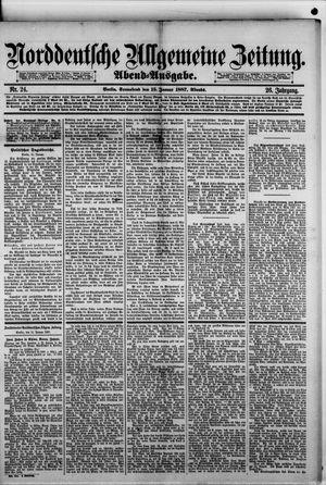 Norddeutsche allgemeine Zeitung vom 15.01.1887