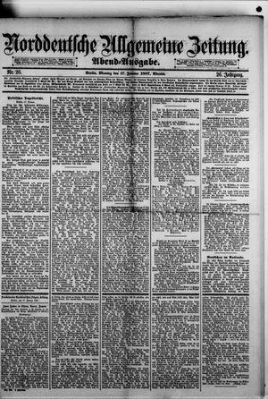 Norddeutsche allgemeine Zeitung vom 17.01.1887