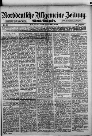 Norddeutsche allgemeine Zeitung vom 18.01.1887