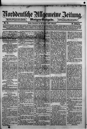 Norddeutsche allgemeine Zeitung vom 22.01.1887