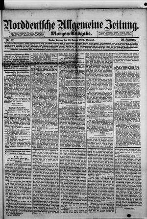 Norddeutsche allgemeine Zeitung vom 23.01.1887