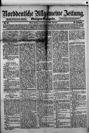 Norddeutsche allgemeine Zeitung vom 25.01.1887