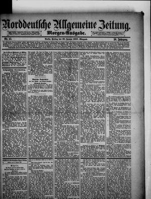 Norddeutsche allgemeine Zeitung vom 28.01.1887