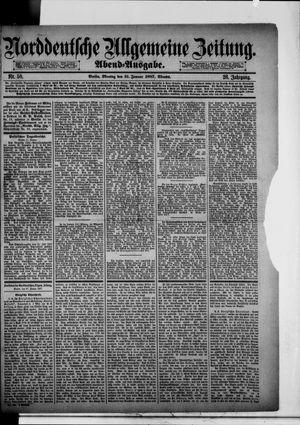 Norddeutsche allgemeine Zeitung vom 31.01.1887