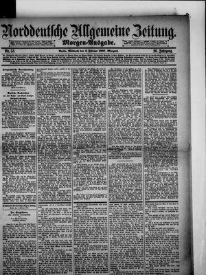 Norddeutsche allgemeine Zeitung on Feb 2, 1887