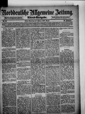 Norddeutsche allgemeine Zeitung vom 03.02.1887