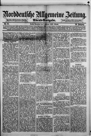 Norddeutsche allgemeine Zeitung vom 05.02.1887