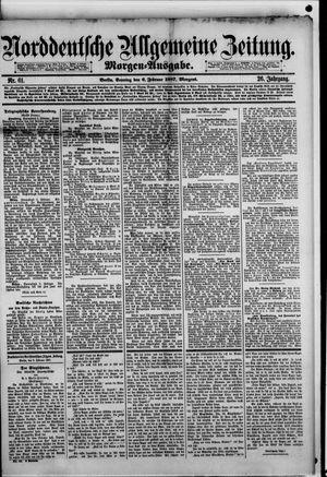 Norddeutsche allgemeine Zeitung vom 06.02.1887