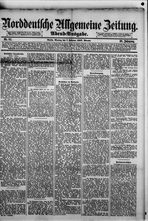 Norddeutsche allgemeine Zeitung vom 07.02.1887