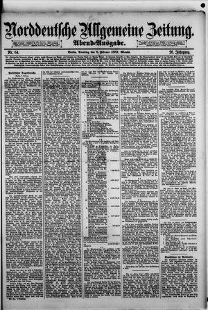 Norddeutsche allgemeine Zeitung vom 08.02.1887