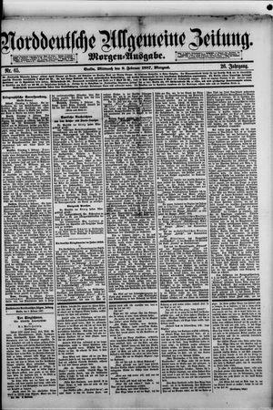 Norddeutsche allgemeine Zeitung vom 09.02.1887