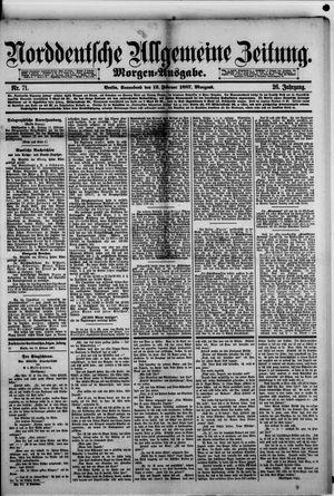 Norddeutsche allgemeine Zeitung vom 12.02.1887