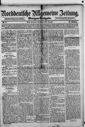 Norddeutsche allgemeine Zeitung vom 18.02.1887