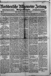 Norddeutsche allgemeine Zeitung (23.02.1887)