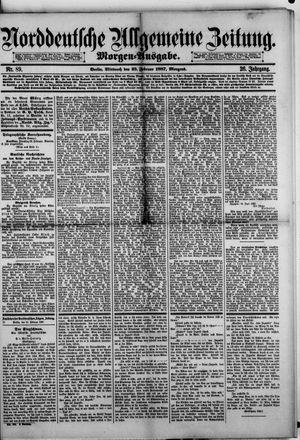 Norddeutsche allgemeine Zeitung vom 23.02.1887