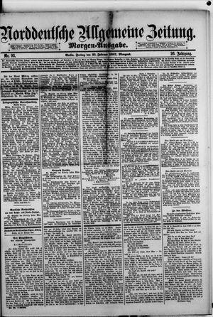 Norddeutsche allgemeine Zeitung vom 25.02.1887