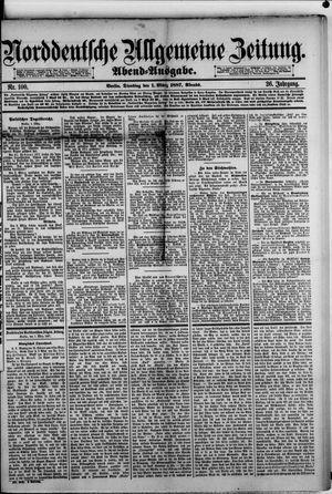 Norddeutsche allgemeine Zeitung vom 01.03.1887
