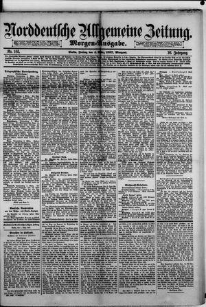 Norddeutsche allgemeine Zeitung vom 04.03.1887