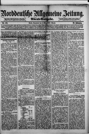 Norddeutsche allgemeine Zeitung vom 05.03.1887