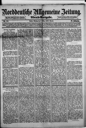 Norddeutsche allgemeine Zeitung vom 07.03.1887