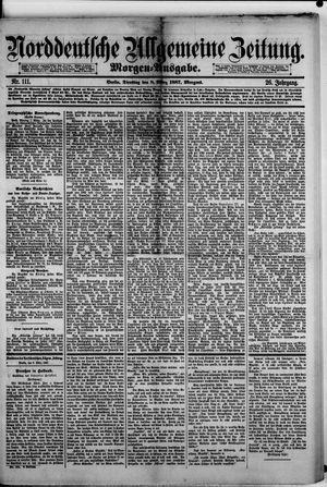 Norddeutsche allgemeine Zeitung vom 08.03.1887