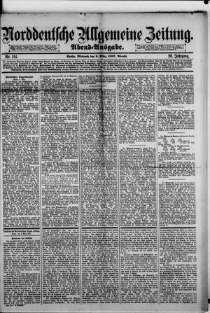 Norddeutsche allgemeine Zeitung vom 09.03.1887