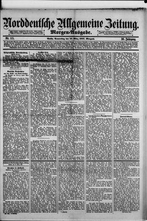 Norddeutsche allgemeine Zeitung vom 10.03.1887