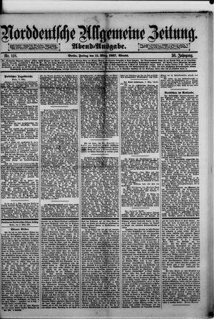 Norddeutsche allgemeine Zeitung vom 11.03.1887