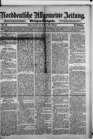 Norddeutsche allgemeine Zeitung vom 12.03.1887