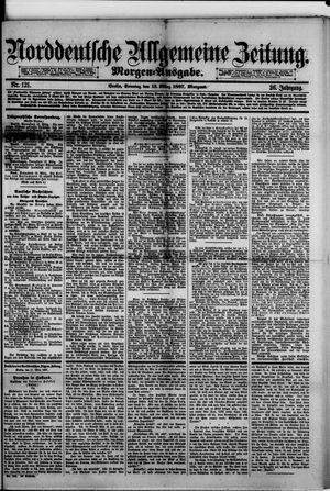 Norddeutsche allgemeine Zeitung vom 13.03.1887