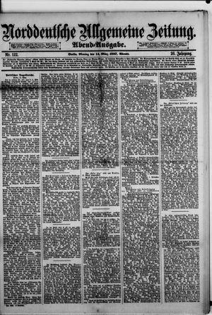 Norddeutsche allgemeine Zeitung vom 14.03.1887