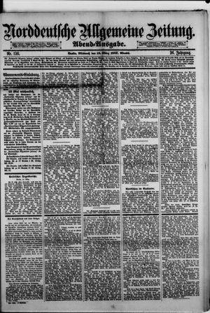 Norddeutsche allgemeine Zeitung vom 16.03.1887