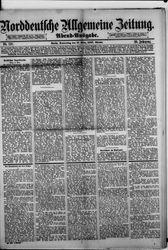 Norddeutsche allgemeine Zeitung (17.03.1887)