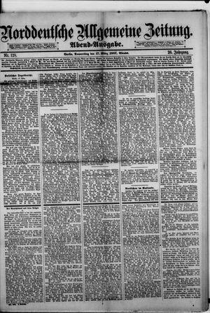 Norddeutsche allgemeine Zeitung vom 17.03.1887